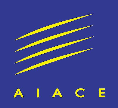 Logo of AIACE, the International Association of Former Staff of the European Union