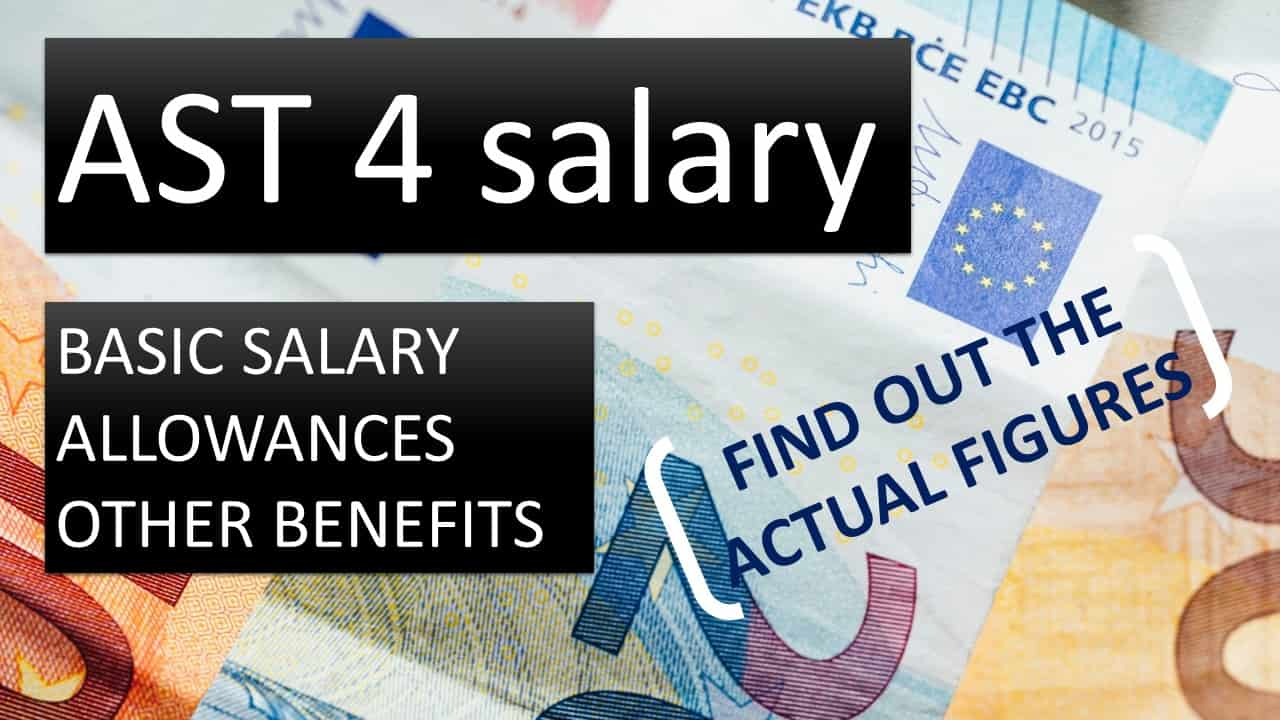 Assistants AST 4 salary